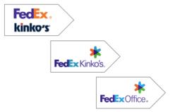 FedEx logos