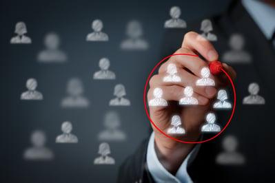 target market—market segmentation