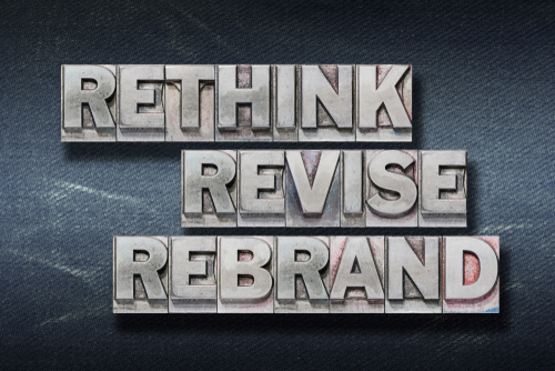 rethink revise rebrand